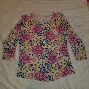 Merona Floral Cardigan,  Size Medium